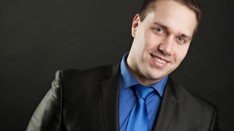 Daininkas, renginių vedįjas Nerijus Stankus